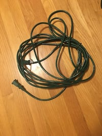 15 foot Christmas light outdoor extension cord