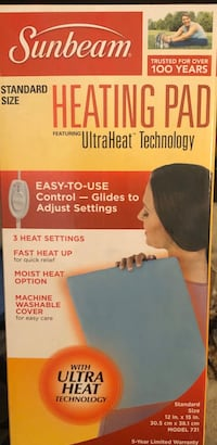 Sunbeam heating pad Bakersfield, 93306