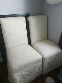 Brocade Parsons accent chairs  Whitby, L1N 8X2