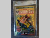 The Inhumans #1 OCT 1975 *PGX 7.0 SHELTON