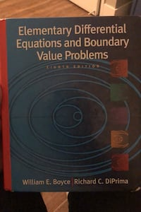 Elementary Diff Eqns & Boundary Value Problems Calgary, T2R 1K8