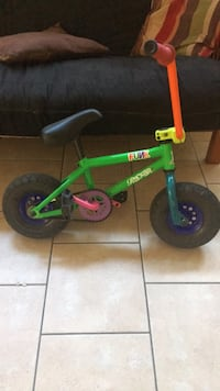 Rocker mini BMX bike  1922 mi