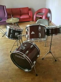 black and gray drum set Rockville, 20850
