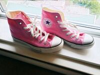 Converse Chuck Taylor High Top Sneakers in Pink Vancouver, V6B 1V4