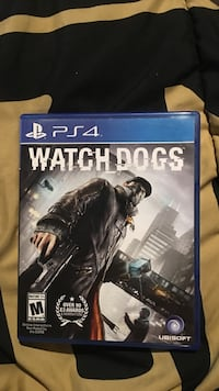 Watch Dogs PS4 game case Anmoore, 26323