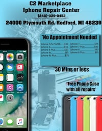 Phone screen repair Redford