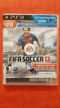 Fifa Soccer 13 PS3 game case