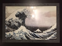 The Great Wave of Kanagawa picture & frame