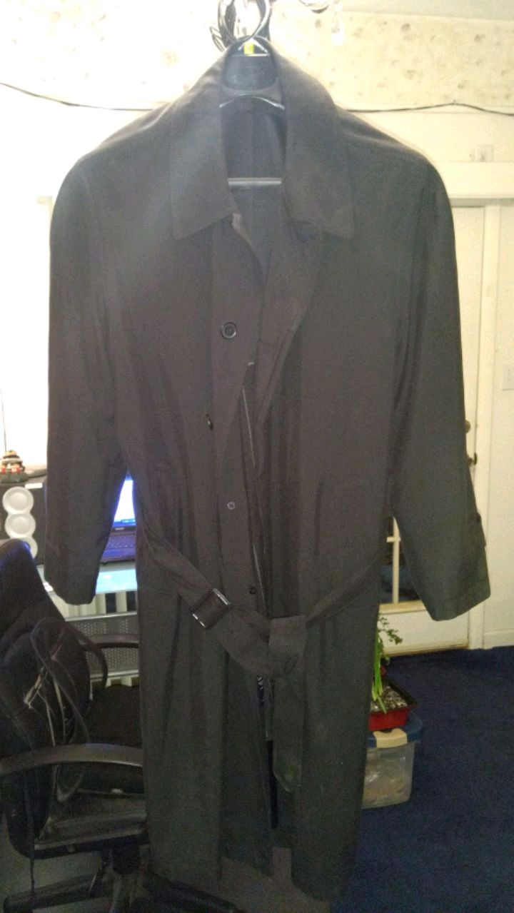Photo Stafford size 42 short trench coat