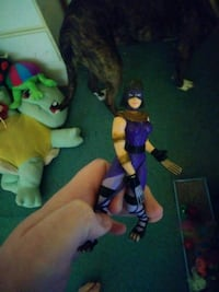 Old time Catwoman figure