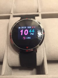 Smart watch with heart rate monitor, step counter etc