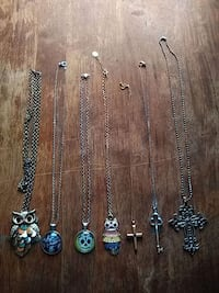 six silver-colored necklaces Huntingtown, 20639