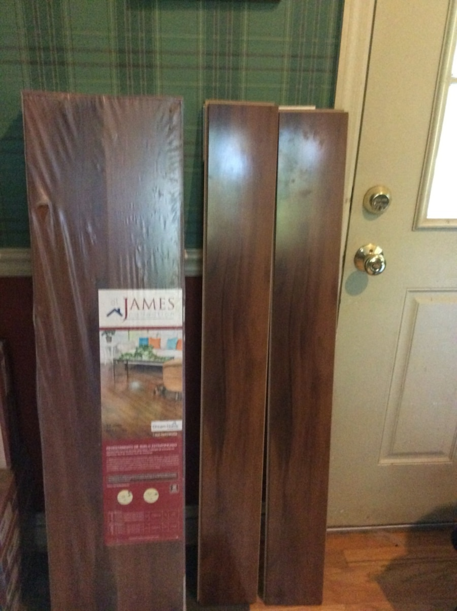 Used St James Collection V Groove Laminate Flooring In Huntington