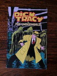 """""""Dick Tracy vs The Underworld"""" Book Two -Graphic Novel Comic - W. D. Publ. 1990"""
