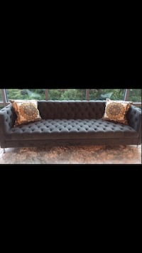 Velvet tufted sofa (final price) great condition. Hollywood Chesterfield Sofa from ModShop. Pillows NOT included  Mc Lean, 22102