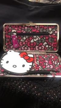 red and white Hello Kitty leather wristlet Los Angeles, 91405