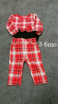 New never worn baby girls 3-6mo outfit $5 Monroeville, 15146