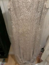 Off white/gold mother of bride dress  Gaithersburg, 20878