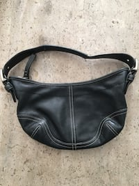 women's black leather hobo bag Milton, L9T 2R1