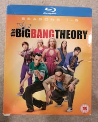 The Big Bang Theory - Seasons 1-5 (Blu-ray) Calgary, T2Z 4W5