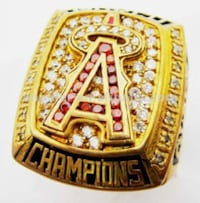 gold-colored championship ring Mississauga