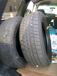 2 tires both in good shape 215 60 16 and 195 60 15 Lansing