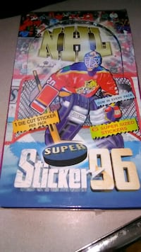 NHL Super Stickers '96