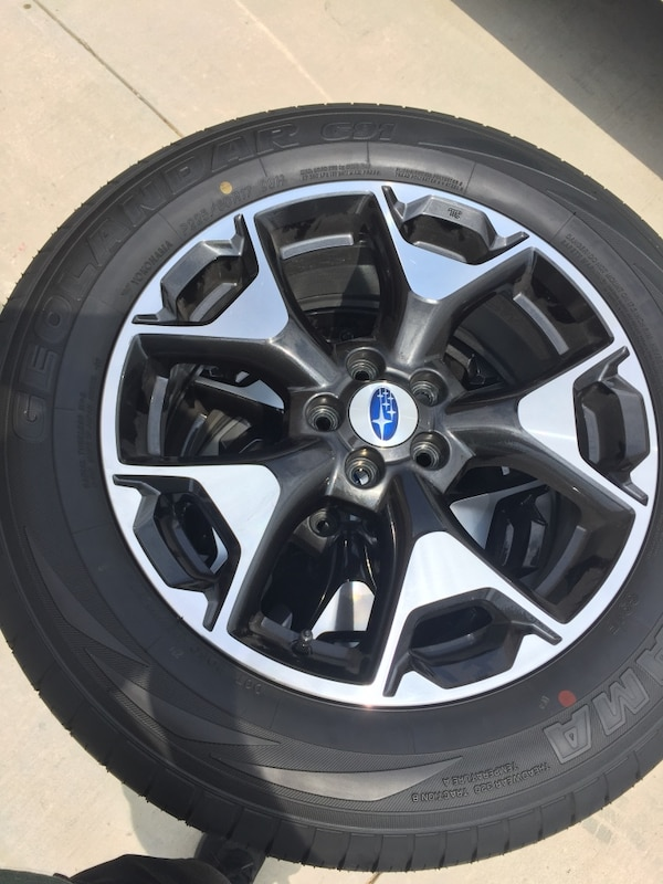 2018 Subaru Crosstrek Wheels And Tires New