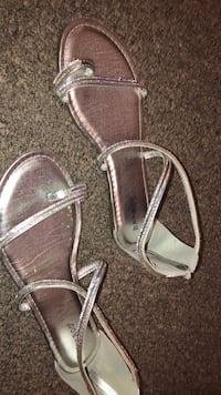 pair of gray leather sandals Brownsville, 78520