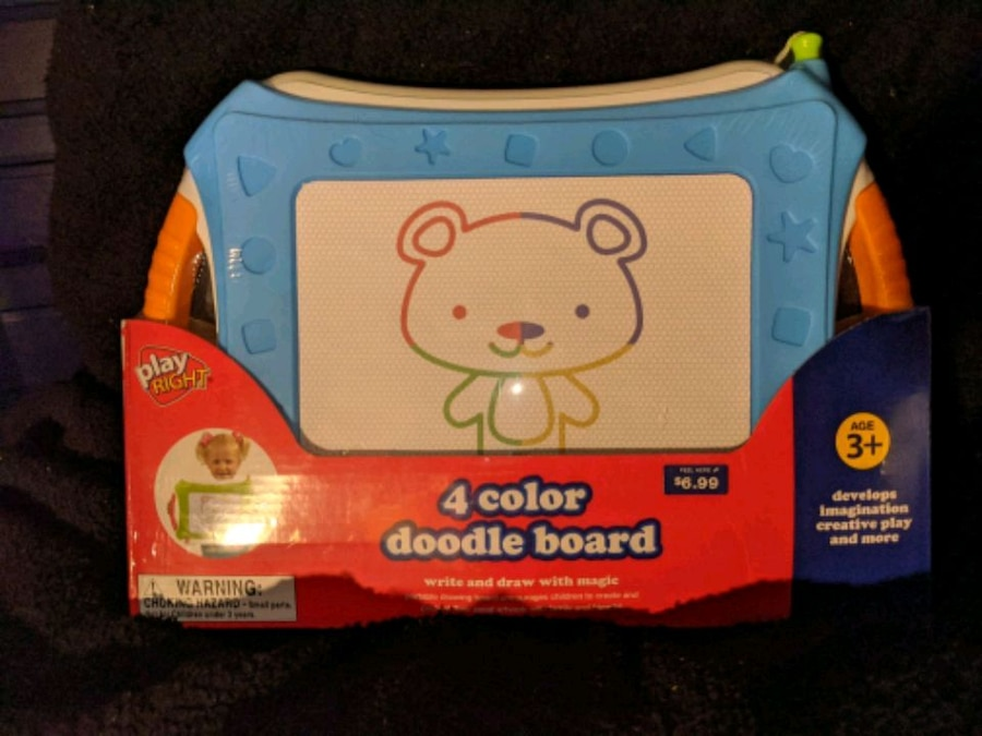 Photo 4 color Doodle Board Play Right