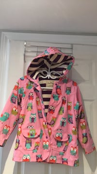pink and green floral zip-up hoodie Toronto, M9C 4M7