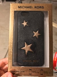 Black and gold star Michael Kors iPhone 6 case Sumter, 29150