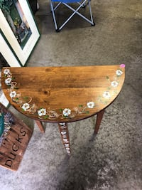 brown wooden table with two chairs Trevor, 53179