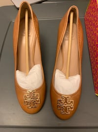 Tory Burch Tan Wedge - New Silver Spring, 20910