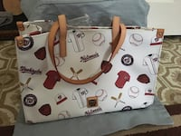 White and red tote bag Rockville, 20850