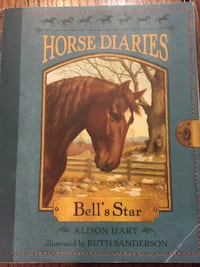 Horse diaries bell's star by alison hart book  Chilliwack, V4Z