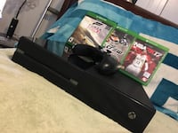 Black xbox one console with controller and games Clearfield, 84015