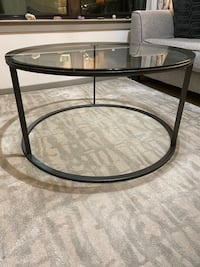 Coffee Table / Glass Top