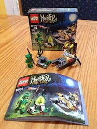 Lego Monster Fighters sets gently used Markham