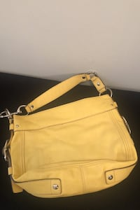 Yellow Couch Purse