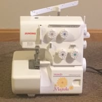 white Janome 7034D Magnolia electric sewing machine Valley, 49010