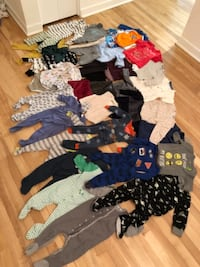 Size 12-18 months clothing and pajamas hardly worn in excellent condition and new with tags  Montreal
