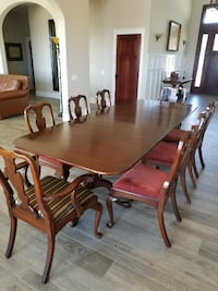 Henkel Harris Solid Mahogany Dining Table FALLBROOK