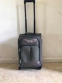 black and gray luggage bag Wilder, 83676