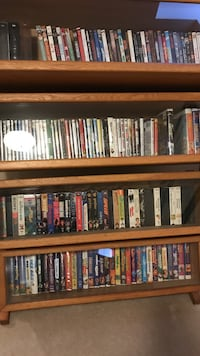 Assorted DVD and VHS movies