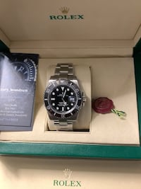 Rolex sub watch R*_E*_P black face and bezel Mississauga, L4Y 4E1