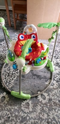 baby's white and green jumperoo Chesapeake, 23320