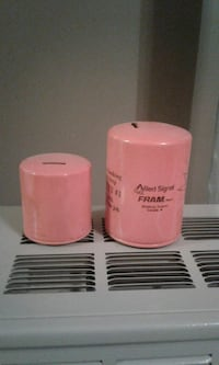 Oil filter piggy bank $5 both  Beachville, N0J 1A0