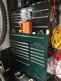 black and gray tool cabinet Oceanside, 92058