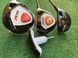 MATCHING TaylorMade R11 9* Driver + 3 Wood + Rescue 11 4-21* Hybrid